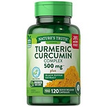 Nature's Truth Turmeric Curcumin Complex 500mg Plus Black Pepper Extract