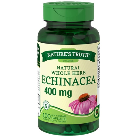 Image of Nature's Truth Natural Whole Herb Echinacea 400mg - 100 ea