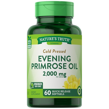 Nature's Truth Cold Pressed Evening Primrose Oil 1000mg - 60 ea