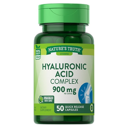 Nature's Truth Bioavailable Hyaluronic Acid 100mg - 50 ea