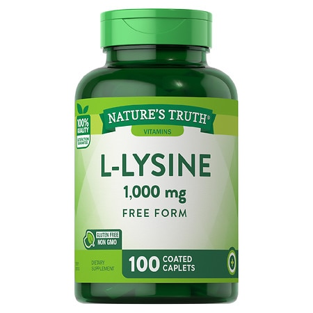 Nature's Truth L-Lysine 1000mg - 100 ea
