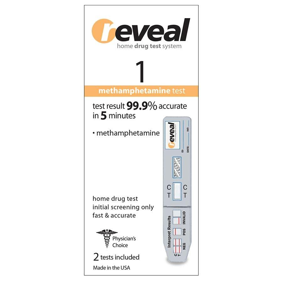 reveal Home 1 Drug Test Methamphetamine