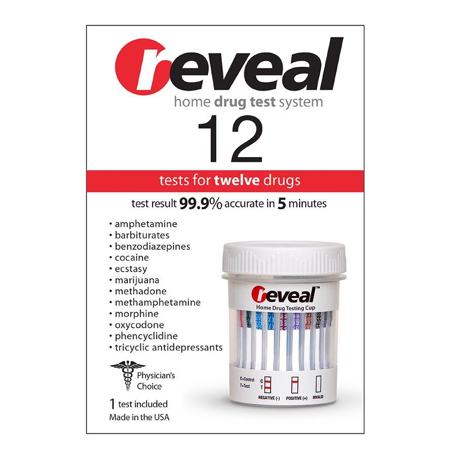reveal Home 12 Drug Test Twelve Drugs