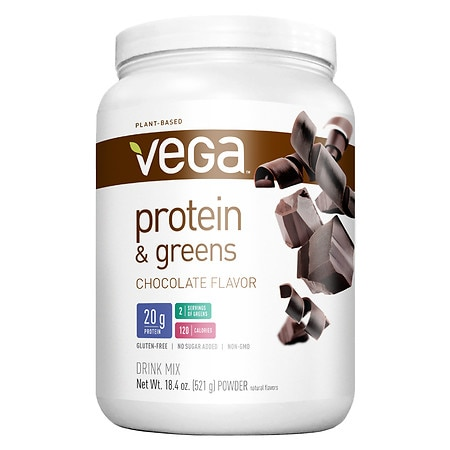 Vega Protein & Greens Chocolate - 18.4 oz.