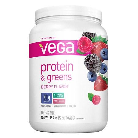 Vega Protein & Greens Berry - 18.4 oz