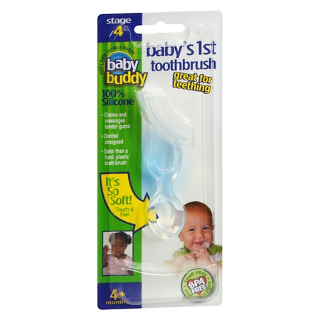 Baby Buddy Baby's First Toothbrush - 1 ea