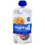 Plum Organics Mighty 4 Baby Food Greek Yogurt Sweet Potato, Blueberry, Millet