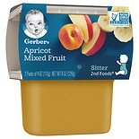 Gerber 2nd Foods Puree Apricot with Mixed Fruit