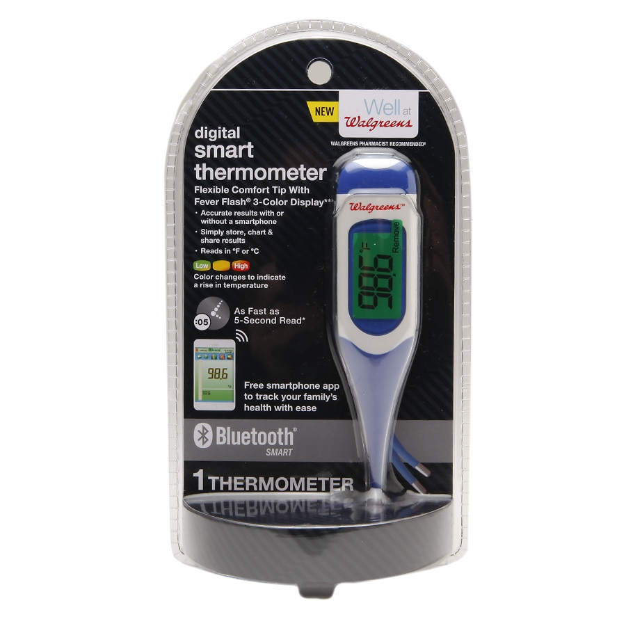 Walgreens Digital Smart Thermometer with Bluetooth *NEW*