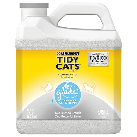 Tidy Cats Cat Litter With Glade - 224 oz.