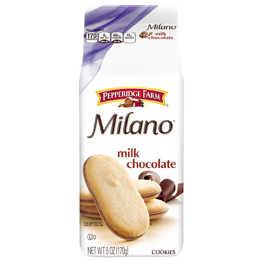 Pepperidge Farm Cookies Milk Chocolate Walgreens