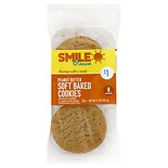 Smile & Save Soft Baked Cookies Peanut Butter