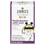 ZarBee's Naturals Baby Multi Vitamin With Iron