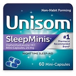 Unisom SleepMinis Nighttime Sleep Aid