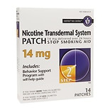 Habitrol Nicotine Transdermal System Stop Smoking Aid Patch, 14 mg Step 2