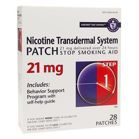 Habitrol Nicotine Transdermal System Stop Smoking Aid