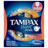 Tampax Tampons Pocket Unscented, Super Plus