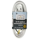 Living Solutions Indoor Extension Cord 6ft White