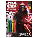 Star Wars Color Book With Crayons