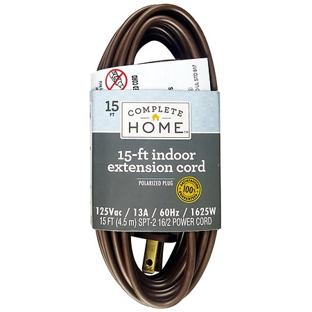 Living Solutions Indoor Extension Cord 15ft - 1 ea