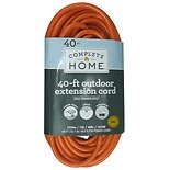 Living Solutions Outdoor Extension Cord 40ft Orange