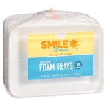 Smile & Save Save Trays 6x8in White
