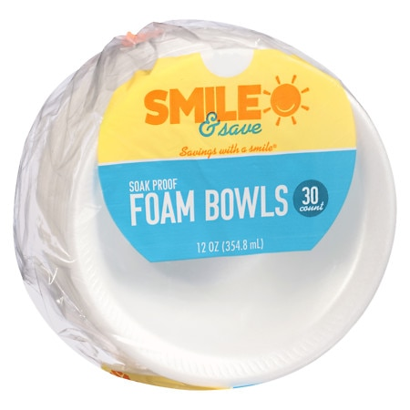 Smile & Save Bowls - 30 ea