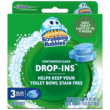 Image of Scrubbing Bubbles Vanish Drop-In Bowl Cleaner - 3 ea