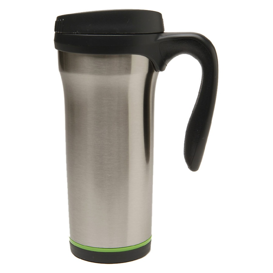 Travel Mugs Walgreens Stainless Steel Collapsible Cup Living Solutions Mug 16oz