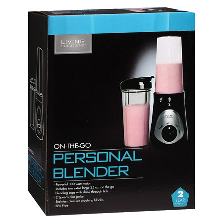 Living Solutions Personal Blender Black Walgreens