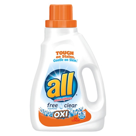 All Liquid Detergent Free & Clear Oxi - 46.5 oz.