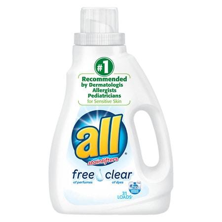 All Liquid Detergent Free & Clear - 47 fl oz