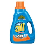 All Liquid Detergent Oxi 47.0oz