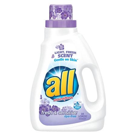 All Liquid Detergent Sensitive - 46.5 oz.