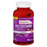 Walgreens Children's Multi Gummies With Vitamin D Fruit