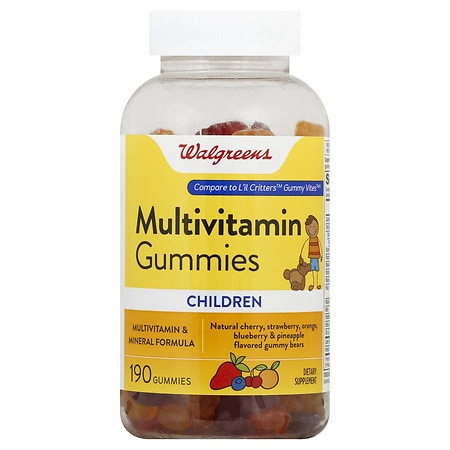 Walgreens Children's Multi Gummies Cherry - 190 ea