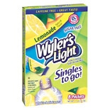 Wyler's Light To Go Drink Mix Lemonade