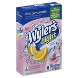 Wyler's Light To Go Drink Mix Pink Lemonade