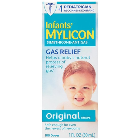 Mylicon Infant Gas Relief Drops Original Formula - 1 oz.