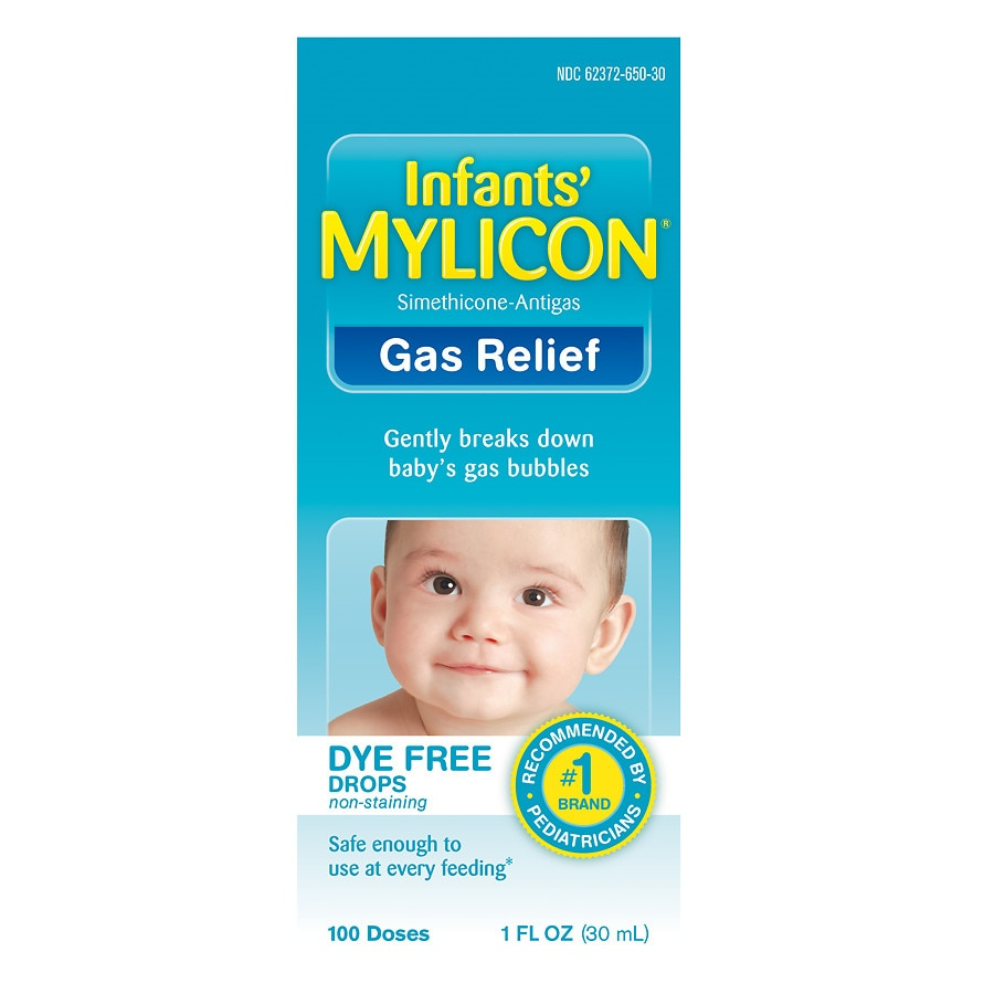 Mylicon Infant Gas Relief Drops Dye Free Formula Walgreens