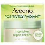 Aveeno Positively Radiant Intense Night Cream