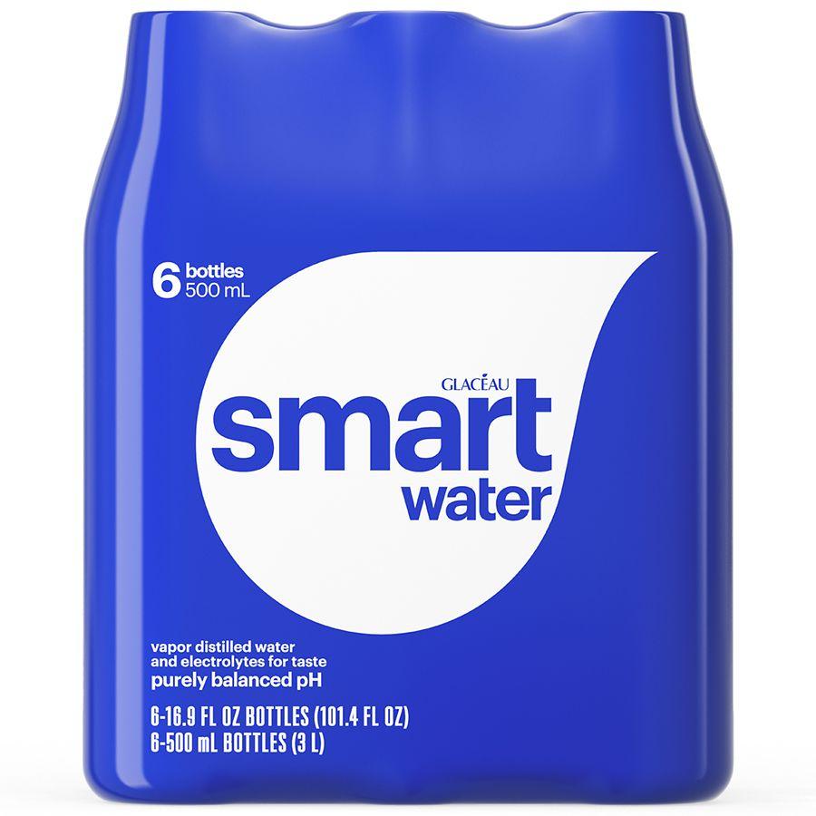 Distilled Water At Walmart ~ Glaceau smart water walgreens