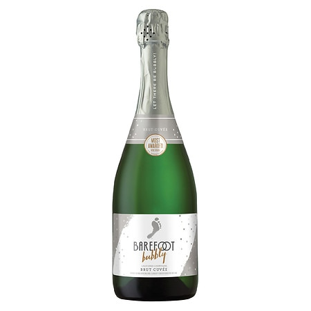 Barefoot Bubbly Brut Sparkling Wine - 750 ml