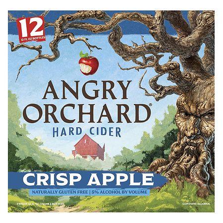 Angry Orchard Hard Cider Crisp Apple - 12 oz. x 12 pack