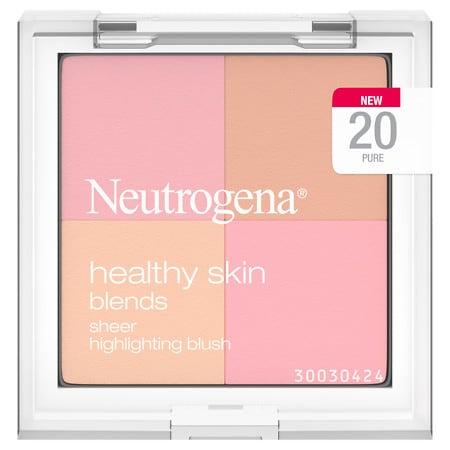 Neutrogena Healthy Skin Blends Sheer Highlighting Blush - 0.3 oz.