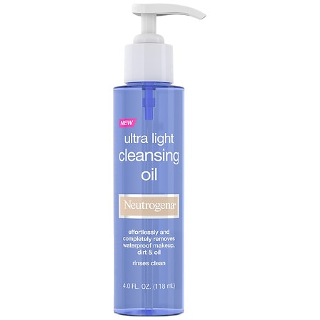 Neutrogena Ultra-Light Cleansing Oil - 4 oz