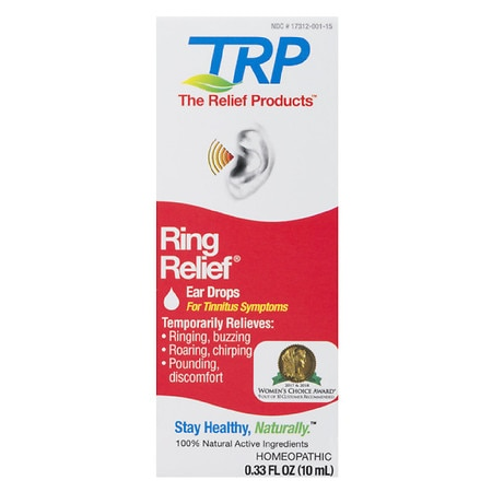 TRP Ring Relief Ear Drops - 0.33 oz.