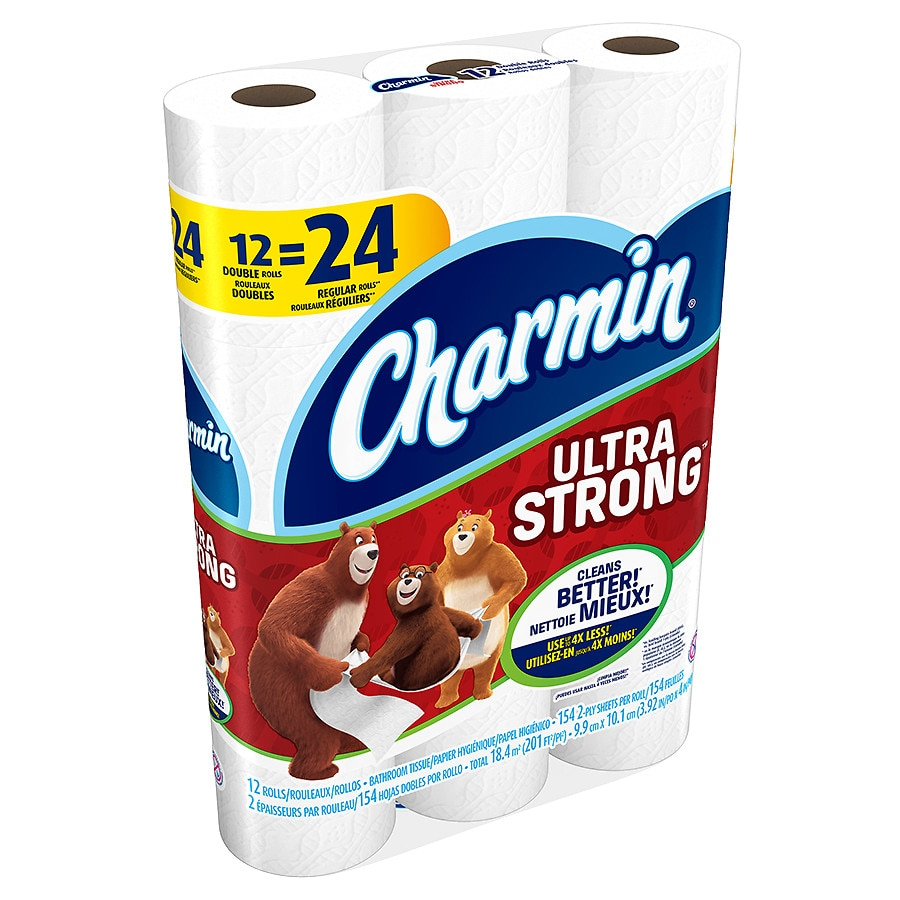Charmin Ultra Strong Toilet Paper Double Rolls Walgreens