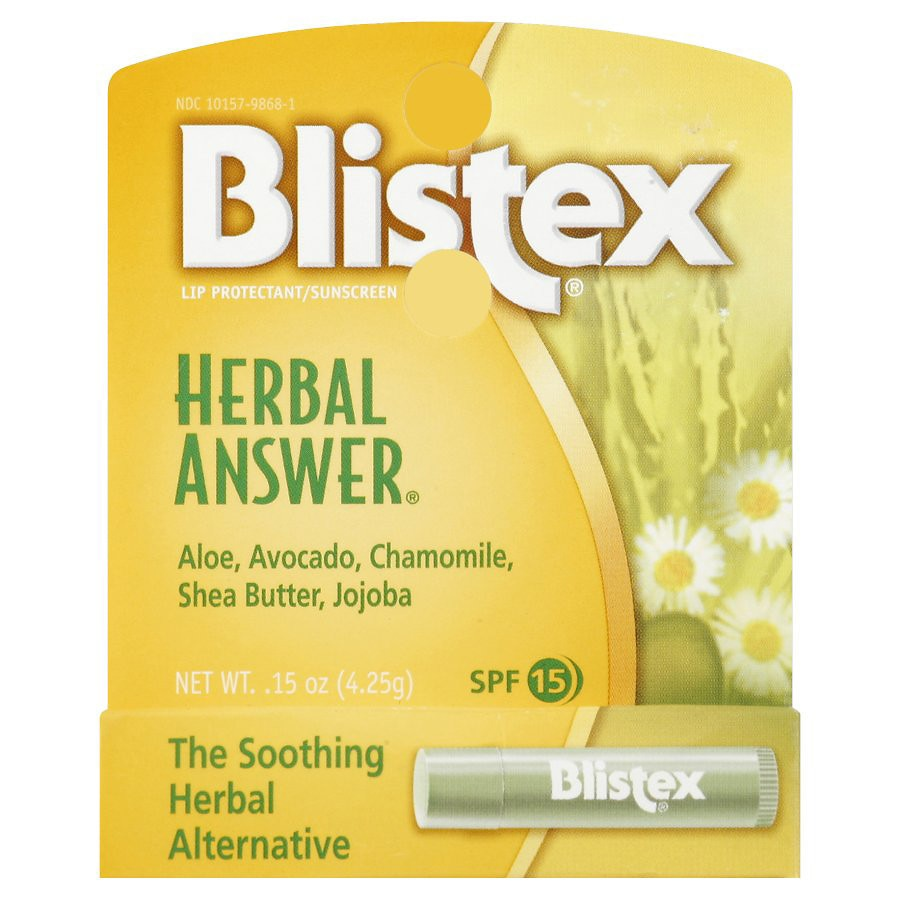 Lip Balm Herbal Answer Each by blistex #22