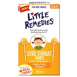 Little Remedies Sore Throat Pops Real Honey